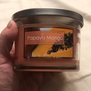 🥭 Everyday Escapes Papaya Mango 9 oz. Candle